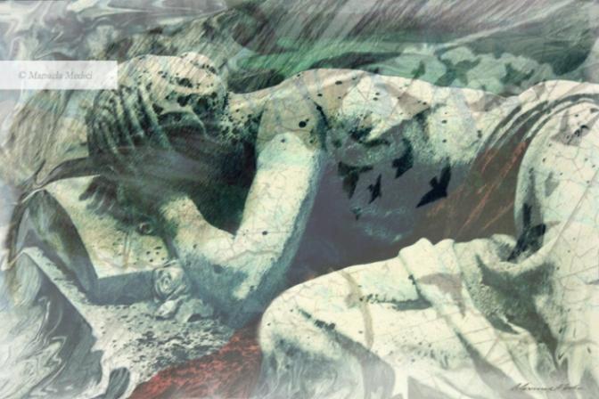"""Manuela Medici: dal """"sonno eterno"""" lo sguardo e lo stimolo dell'arte per avviare innumerevoli nuovi """"risvegli""""…"""