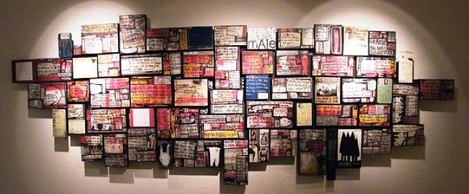 Tommaso Santucci: quando la parola scritta diventa segno artistico(finalmente!)