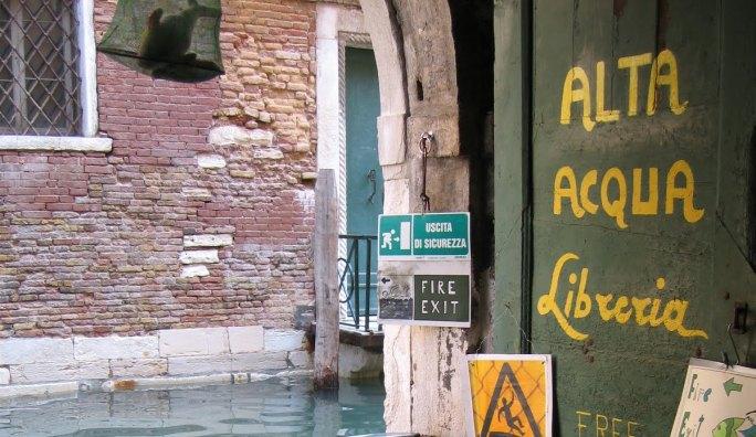 INTERVALLO – Venezia, Libreria AcquaAlta