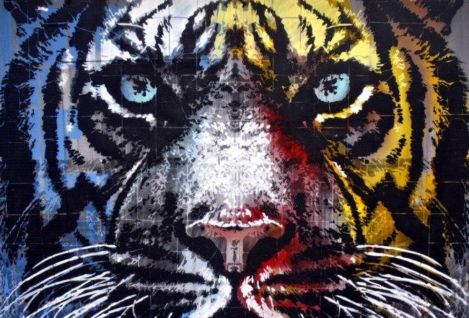 Guerriglia a colpi di (sublime) arte. Gli street artists ORTICANOODLES alla Traffic Gallery di Bergamo, dal 05/10 al07/12.