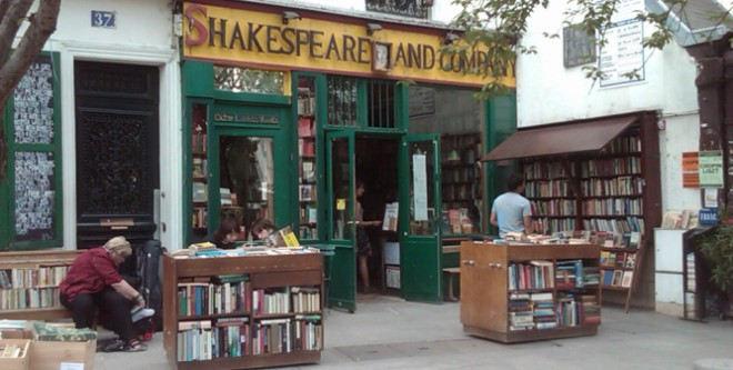 "INTERVALLO – Parigi, ""Shakespeare & Company"" Bookshop"