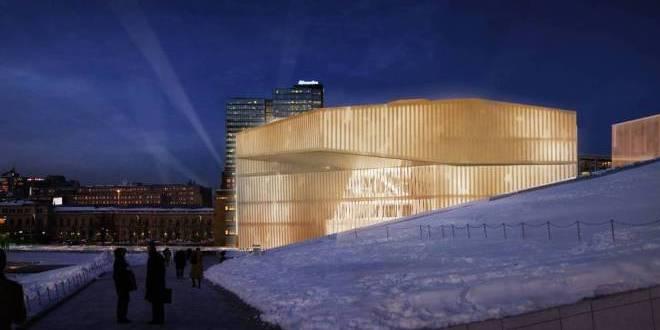 INTERVALLO – Oslo, nuova Biblioteca Centrale e CentroCulturale
