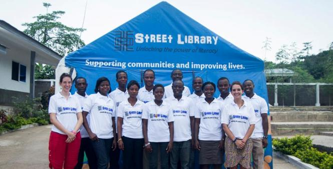 INTERVALLO – Ghana, Street LibraryProject