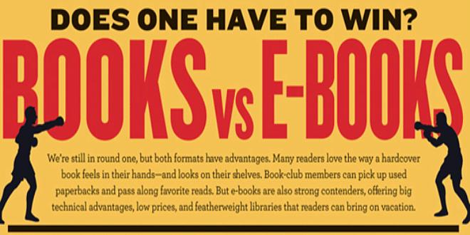 Libro vs ebook: ne resterà soltanto uno? Macché, nient'affatto!