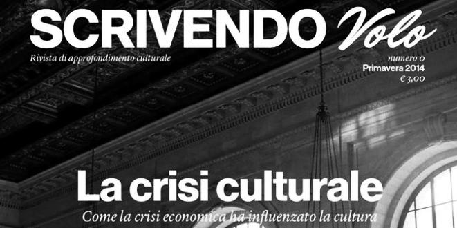 E' uscito il nr.0 di SCRIVENDO VOLO, la nuova rivista di approfondimentoculturale