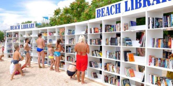 INTERVALLO – Albena (Bulgaria), Beach Library