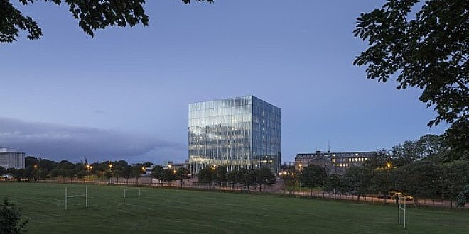 INTERVALLO – Aberdeen (Scozia), University of Aberdeen New Library