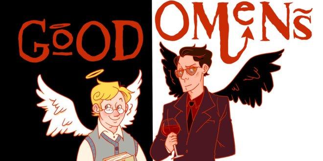 "Terry Pratchett, Neil Gaiman, ""Buona Apocalisse atutti!"""