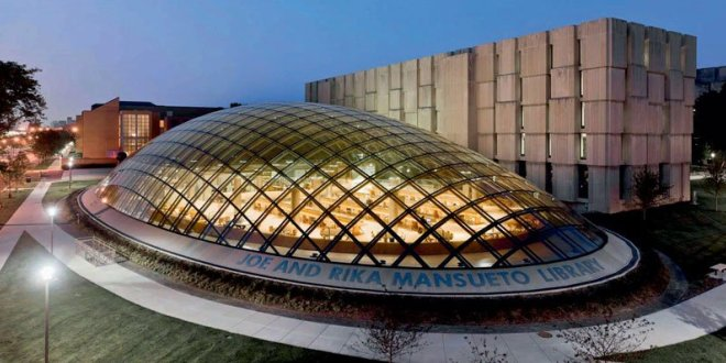 INTERVALLO – Chicago (USA), Joe and Rika Mansueto Library
