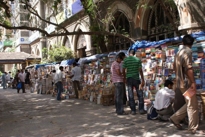 Mumbai Fort bookshop