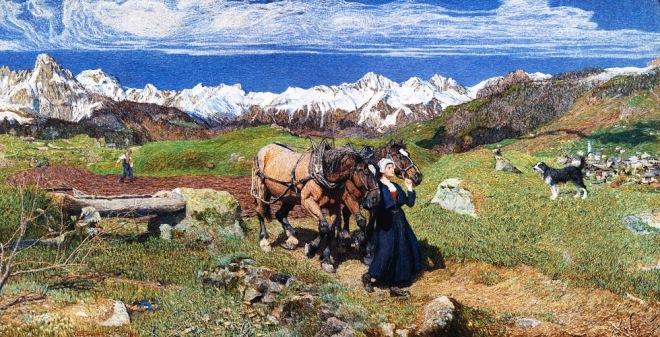 """""""La raffigurazione della primavera"""", 1897."""