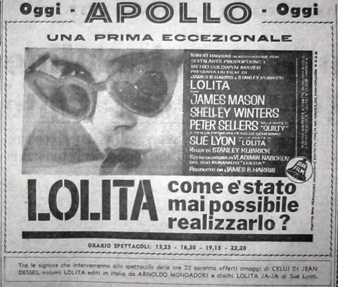 lolita apollo 20-12-62