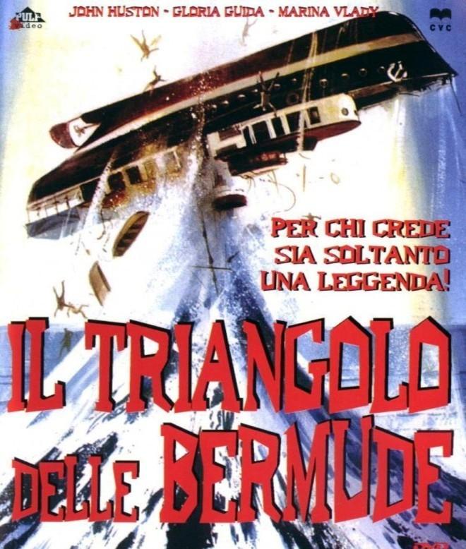 """Locandina de """"Il Triangolo delle Bermude"""" di René Cardona Jr. (1978), uno dei tanti film dedicati a tale """"mistero""""."""
