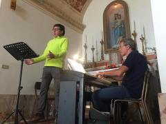 Giuseppe Capoferri e Samuele Pala, Chiesa della Madonna della Cintura a Forcella Bassa, 1 luglio 2018.