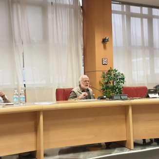 Gli oratori: Luca, Roberto Mantovani, Don Paolo Papone