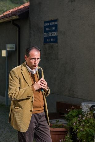 [Fabio Bonaiti, Referente scientifico del Museo Ca' Martì.]
