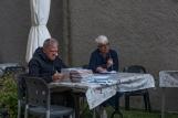 [Luciano Bolzoni, direttore culturale, e Cristina Busin, presidente di Alpes.]