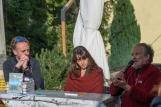 """[Luca Rota, Sara Invernizzi e Ruggero Meles, autori della guida """"Dol dei Tre Signori"""".]"""